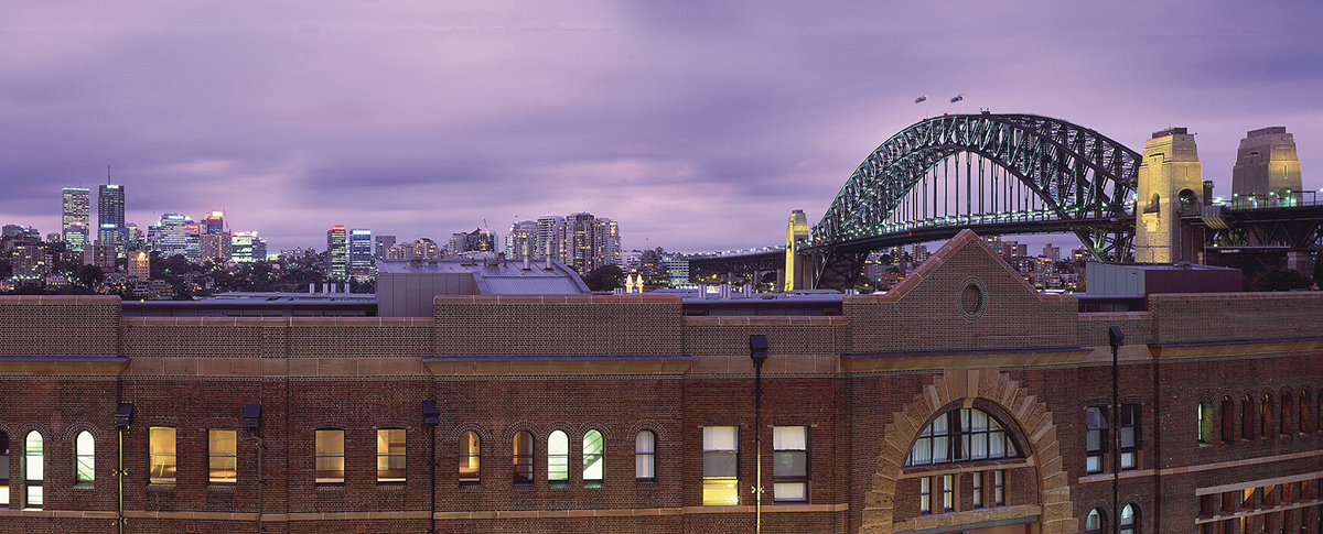 Walsh Bay Harbour Bridge