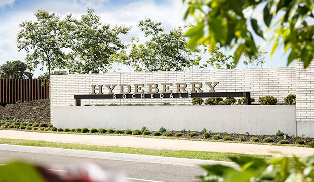 Hydeberry by Mirvac masterplanned community entrance